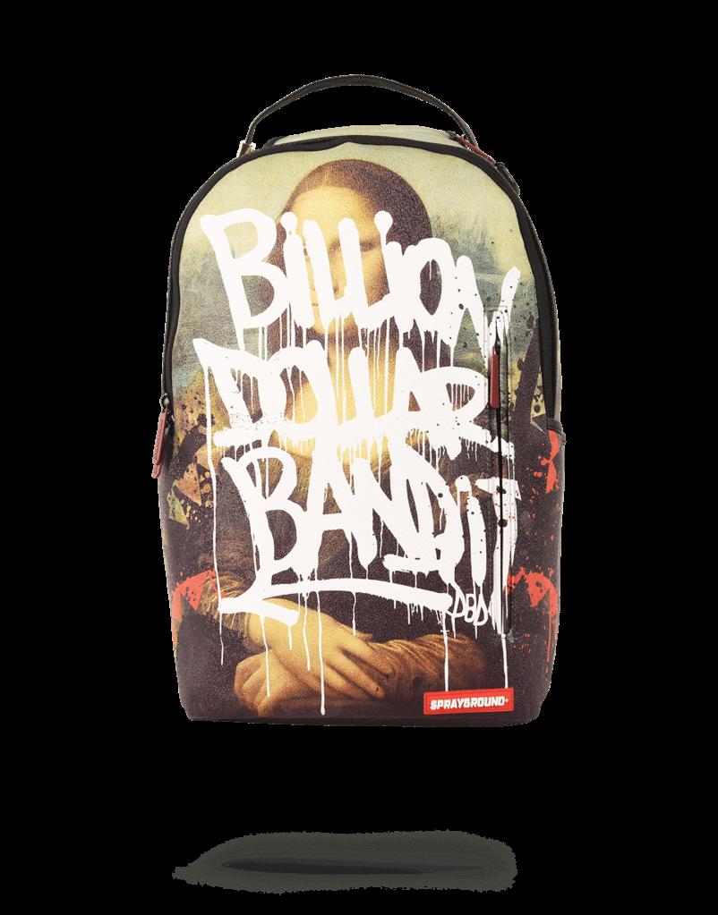 903d5595f87f29 Sprayground Mona Lisa Bandit Backpack