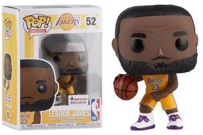 "Lebron Funko Pop ""Yellow Lakers"""