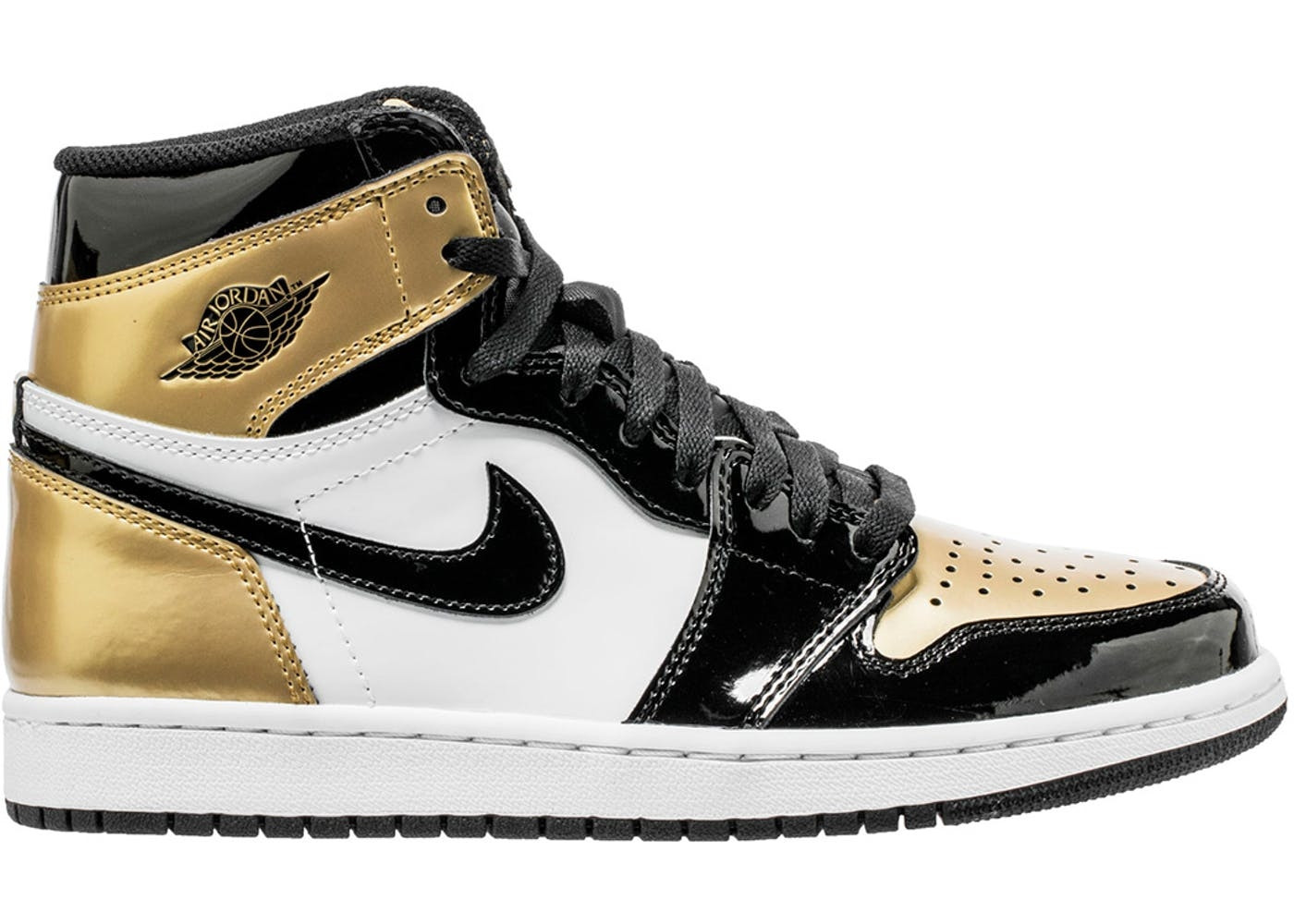 "Jordan 1 Retro ""Gold Toe"""