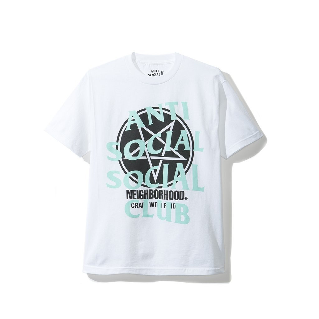 "Anti Social Social Club Neighborhood Tee ""White"""