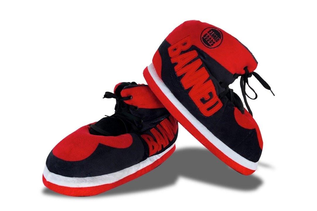 """Jordan 1 """"Bred"""" Slippers"""