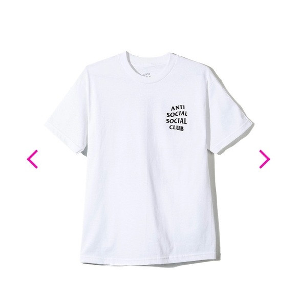 "Anti Social Social Club Logo Tee ""White"""