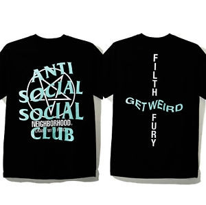 "Anti Social Social Club Neighborhood Tee ""Black"""