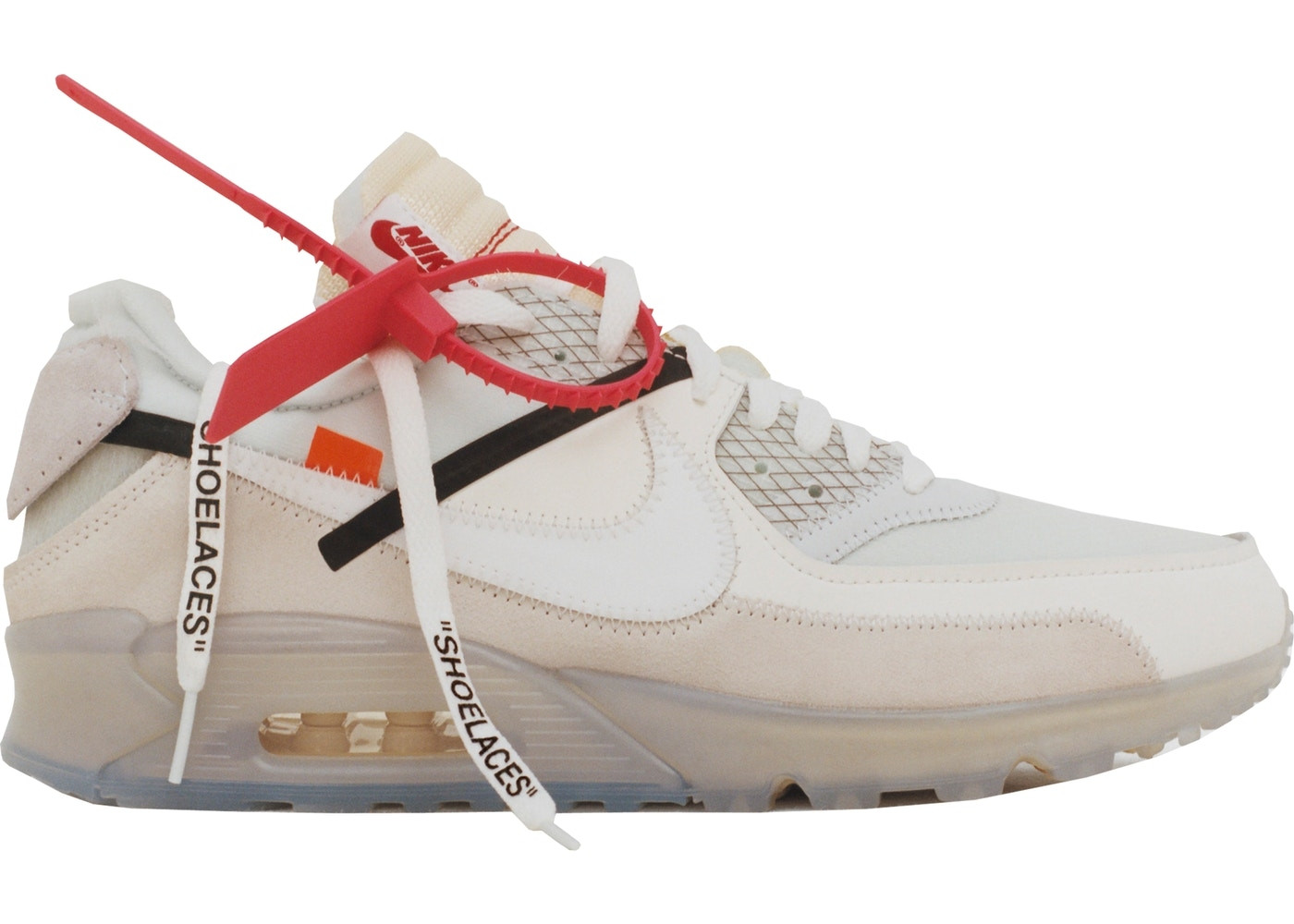 Sneakers NIKE AIR MAX 90 OFF WHITE views on the account