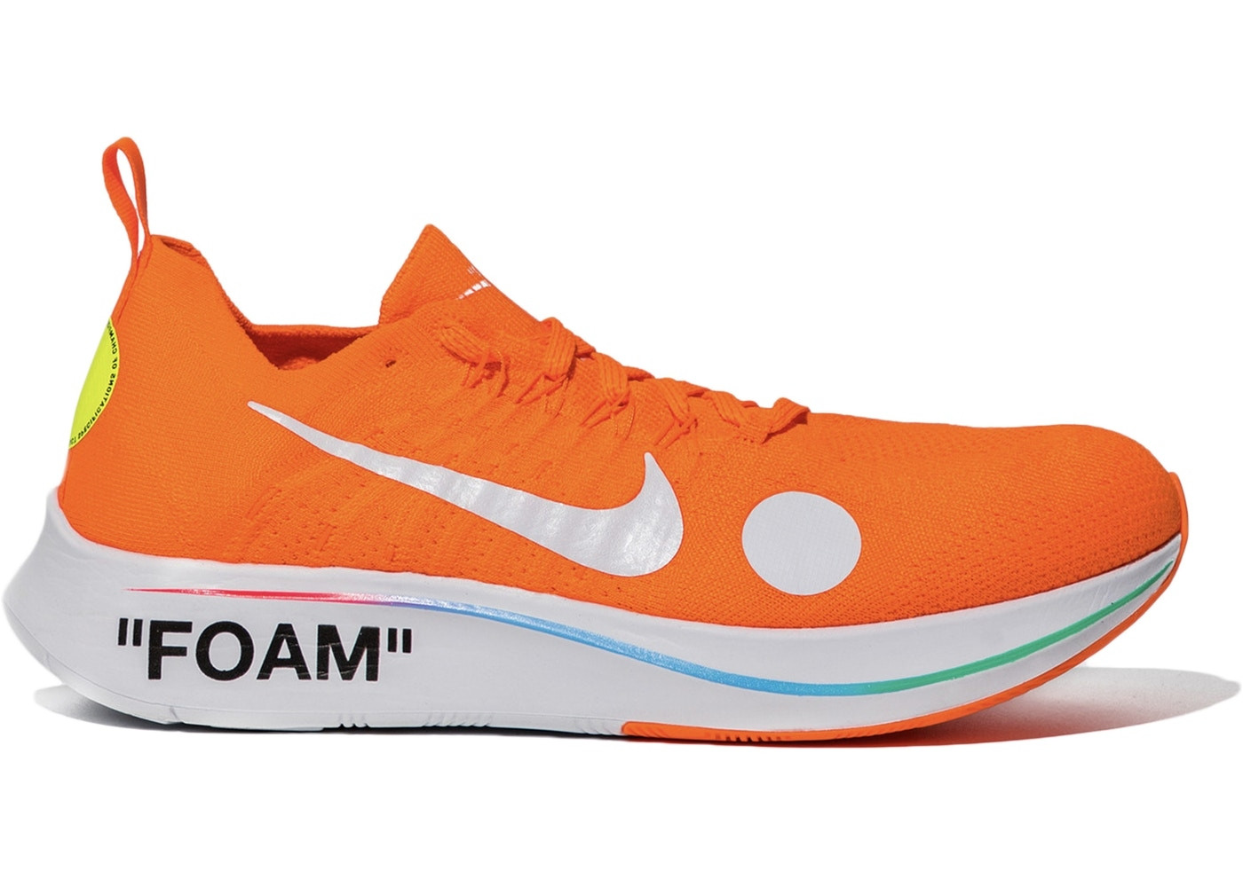 """Zoom Fly Mercurial Off-White """"Total Orange"""""""