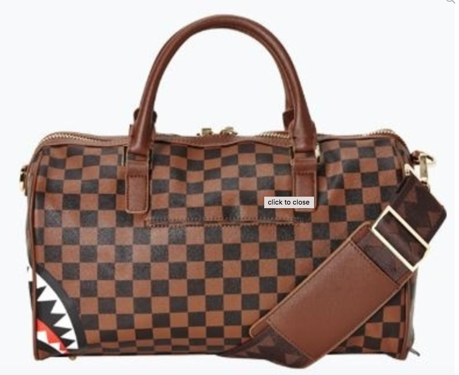 Sprayground Sharks in Paris Mini Duffle