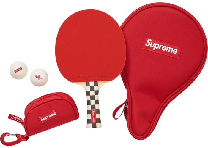 """Supreme Butterfly Table Tennis Racket Set """"Checkerboard"""""""