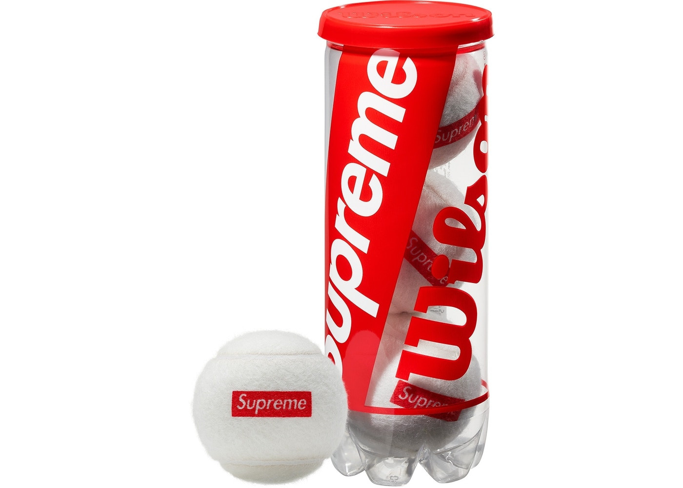 "Supreme Wilson Tennis Balls ""White"""