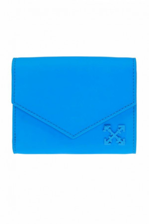 "Off White Wallet ""Blue"""