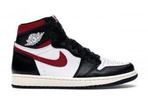 "Jordan 1 Retro High ""Black Gym Red"""