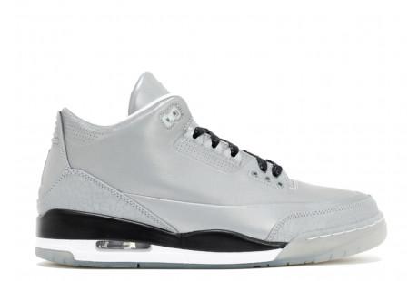 "Jordan 3 Retro ""5Lab3 Silver"""