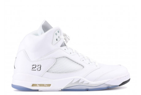 Jordan 5 Retro 'Metallic White 2015""