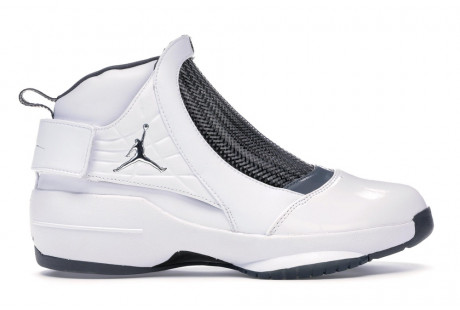"Jordan 19 Retro ""White Flint Grey"""
