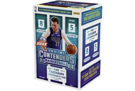2020-21 Panini Contenders Basketball Blaster Box