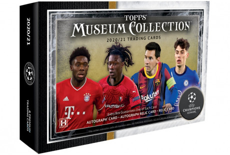2020-21 Topps Museum Collection UEFA Champions League