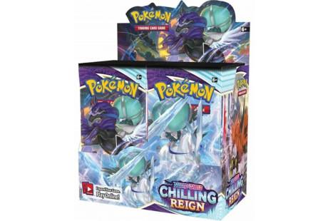 Pokémon TCG Sword & Shield Chilling Reign Booster Box