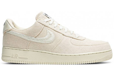 Stussy x Air Force 1 Low 'Fossil'