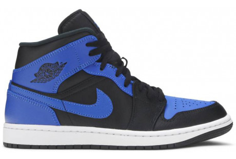 Air Jordan 1 Mid 'Hyper Royal'