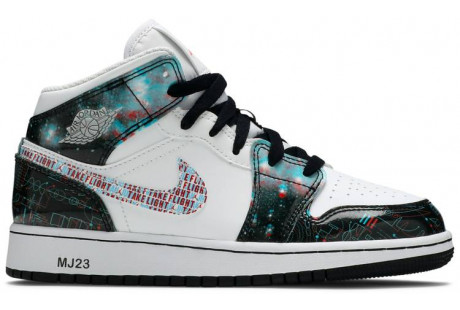 Air Jordan 1 Mid SE GS 'Take Flight'