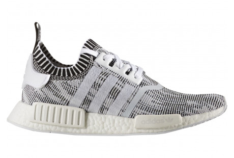 "NMD R1 Glitch Camo ""White Black"""
