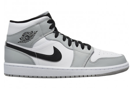 "Jordan 1 Mid Light ""Smoke Grey"""