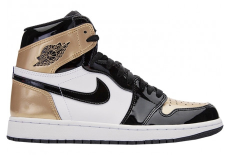 "Jordan 1 Retro ""High Gold Top 3"""