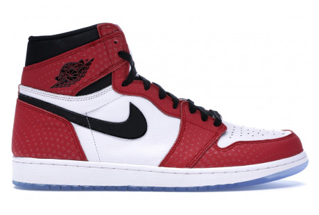 "Jordan 1 Retro High ""Spider-Man"""