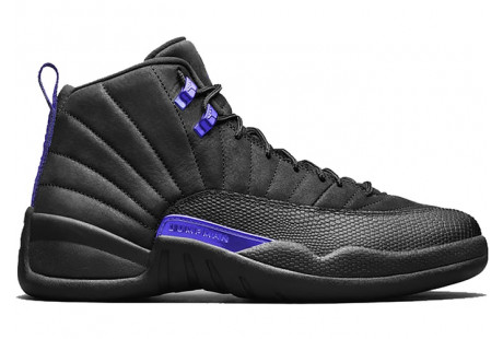 "Jordan 12 Retro ""Black Dark Concord"""