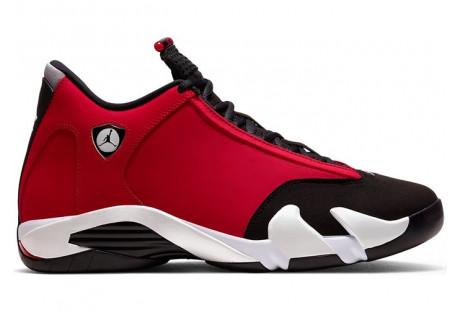 "Jordan 14 Retro ""Gym Red Toro"""