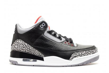 """Jordan 3 Retro """"Black Cement"""" 2011"""