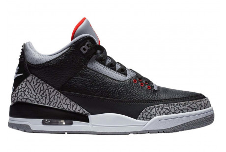 "Jordan 3 Retro ""Black Cement"" 2018"
