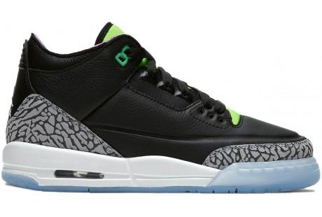 Jordan 3 Retro Electric Green (GS)