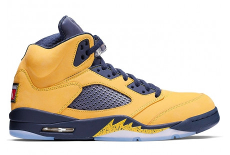 "Jordan 5 Retro ""Michigan 2019"""