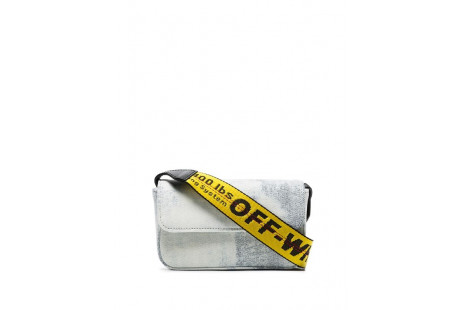 "Off White Crossbody ""Denim"""