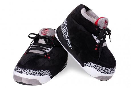 "Jordan 3 ""Black Cement"" Slippers"
