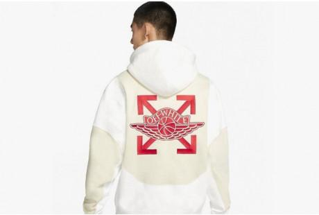 "OFF-WHITE x Jordan Hoodie ""White"""
