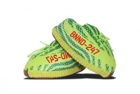 "Yeezy ""Frozen Yellow"" Slippers"