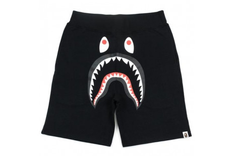 "Bape Shark Shorts Sweats ""Black"""
