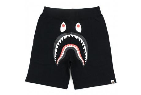 "Bape Shark Shorts Sweats ""Black"""