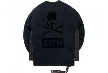"Kith x mastermind WORLD Crewneck Cargo ""Black"""