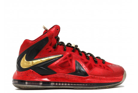 "Nike LeBron X Celebration High ""Red"""