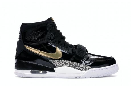 "Jordan Legacy 312 ""Black Gold Patent"""