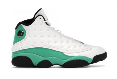 "Jordan 13 Retro ""White Lucky Green"""