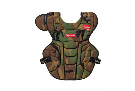 """Supreme Rawlings Catcher's Chest Protector """"Woodland Camo"""""""