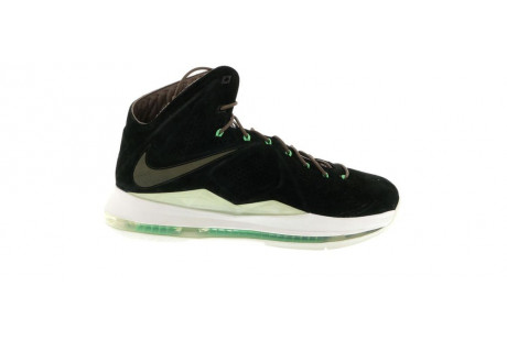 "Nike LeBron X EXT ""Black Suede"""