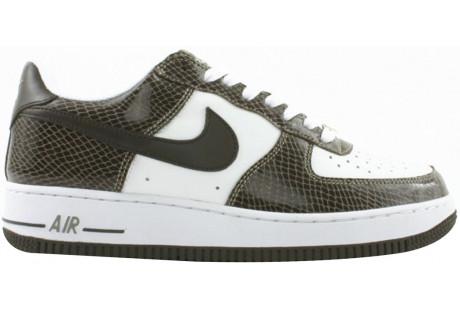 Nike Air Force 1 Low Snakeskin Baroque Brown