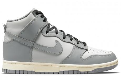 Nike Dunk High Grey Sail (W)
