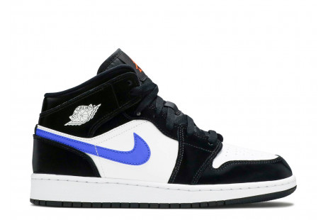AIR JORDAN 1 MID GS 'Black Racer Blue""