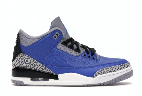"Jordan 3 Retro ""Varsity Royal Cement"""