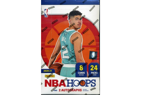 2020-2021 NBA Hoops Hobby Box